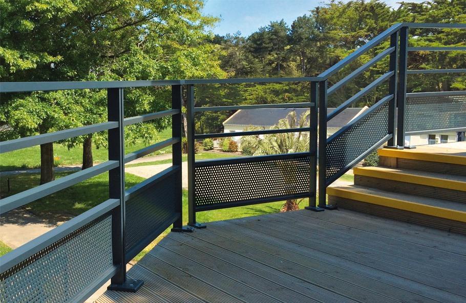 pour balcon escaliers ou parapet Mctech/® Garde-corps pour int/érieur et ext/érieur